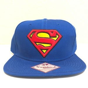 Superman Snapback Baseball Hat
